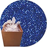 Glitter My World! Craft Glitter: 25lb Box: Royal Blue Streak