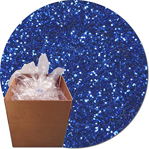 Glitter My World! Craft Glitter: 25lb Box: Royal Blue Streak by Glitter My World!