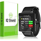 Garmin Vivoactive Screen Protector, IQ Shield LiQuidSkin (6-Pack) Full Coverage Screen Protector for Garmin Vivoactive HD Clear Anti-Bubble Film - with