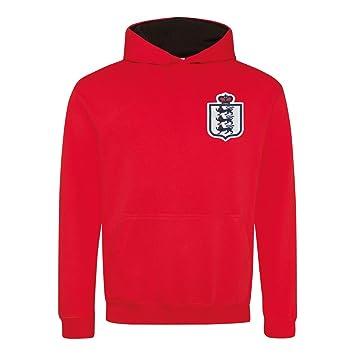 b2767404 Print Me A Shirt Kids Retro England 3 Lions Contrast Football Fan ...