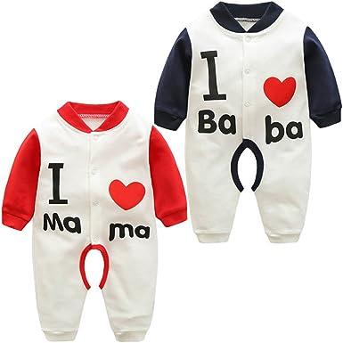 ARAUS Mameluco Bebé Ropa Dibujos Animados Recién Nacido Pantalones ...