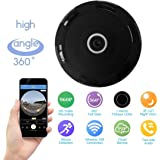 ProElite F05 Fisheye 360° Panoramic Wireless Wifi [Watch Live Demo Right Now] 1.3 MP 960p HD IP CCTV Security Camera with SD card slot