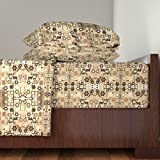Roostery Faith 3pc Sheet Set My Identity by Winterblossom Twin Sheet Set made with