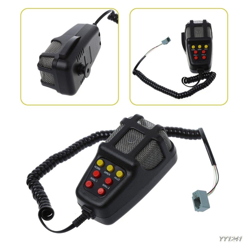 7 Suoni KKmoon Super Sound Whistle High Bass 12V Moto Airhorn Cars Aircompressor Kit Car Alarm Polizia e Ambulanza Sirena
