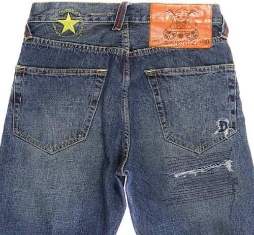 Yoropiko jeans Yoropiko washed denim jean YORO5433