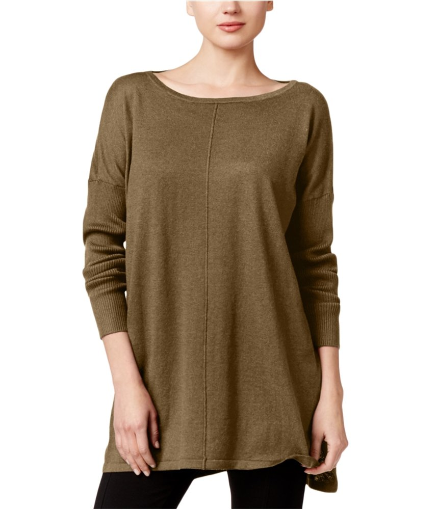 Style & Co. Womens Knit Tunic Sweater saltynutopd PS - Petite