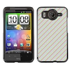 ZECASE Funda Carcasa Tapa Case Cover Para HTC Desire HD G10 No.0000228