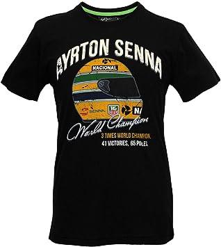 Ayrton Senna Camiseta T-Shirt Campeón Del Mundo, Fórmula 1, F1, ASV-14-105: Amazon.es: Deportes y aire libre