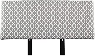 product image for MJL Furniture Designs Alice Padded Bedroom Headboard Contemporary Styled Bedroom Décor, Fulton Series Headboard, Storm Finish, Eastern King Sized, USA Made