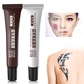 Amazon.com : Fancathy Concealer, Tattoo Cover Up Concealer Set ...