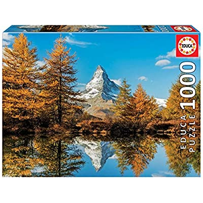 Educa Borras 1000 Monte Cervino In Autunno Puzzle 17973