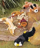Cheap Set of 4 Stuffing-Free Dog Toys