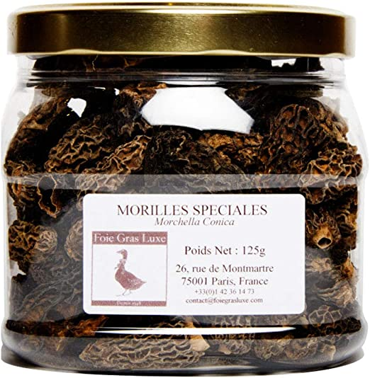 Morilles Conica Sechees Qualite Irreprochable Champignons