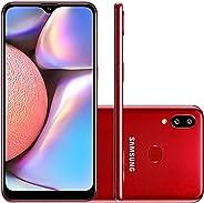 Celular Samsung Galaxy A10s Vermelho 32gb Android 9.0 Pie Tela 6.2