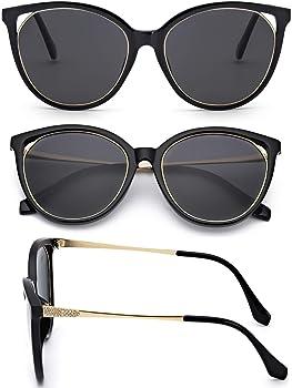 0ce99b0131ba8 Amazon.com  Myiaur Retro Cat Eye Sunglasses Women
