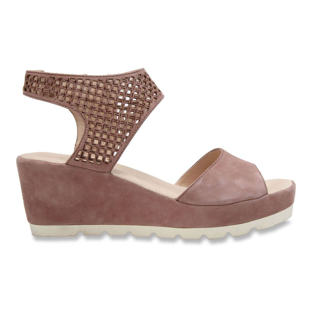 Gabor Women's 45-741 Perforated Strap Wedge Sandal B014Q88RL0 6.5 F(M) UK / 9 B(M) US Antikrosa Samtchevreau