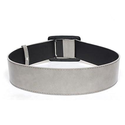 Zcaosma Wide Leather Belt Winter Belt Can Adjusted All-Match Long Belt For Women,Black,110Cm