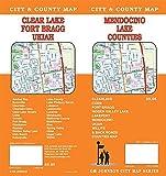 Mendocino / Lake County / Clear Lake / Ukiah / Fort Bragg, California Street Map
