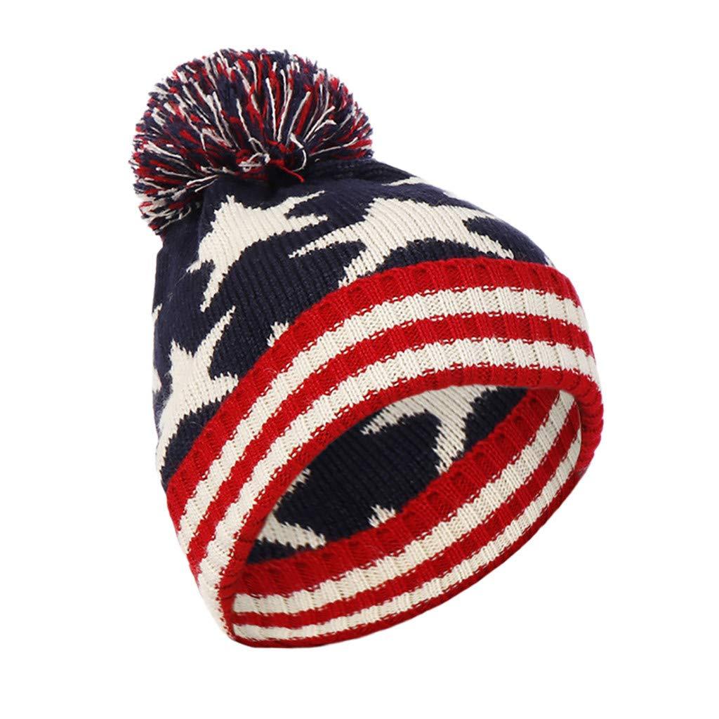 f24a5b5943e Amazon.com  shitou Men Women Baggy Warm Crochet Winter Wool Knit Ski Beanie  Skull Slouchy Caps Hat 2019