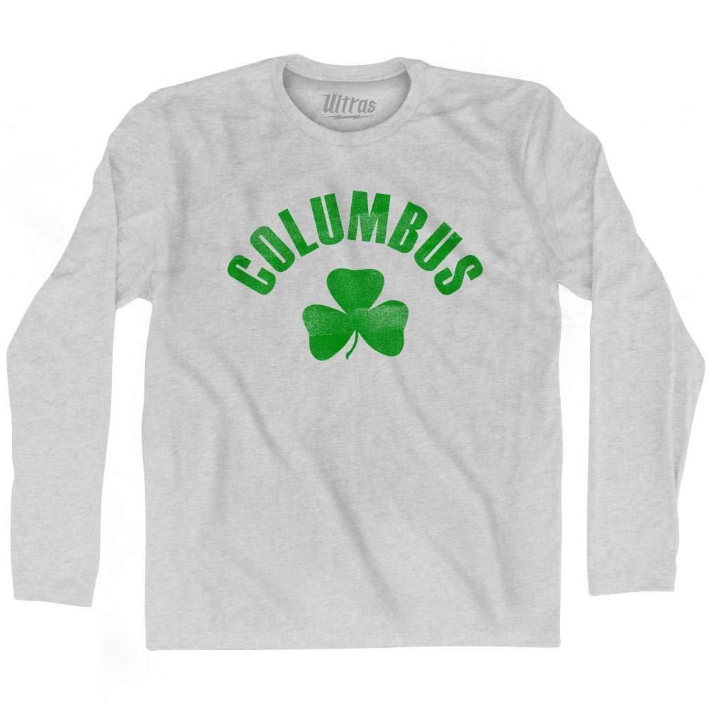 Ultras Columbus City Shamrock Cotton Long Sleeve T-Shirt