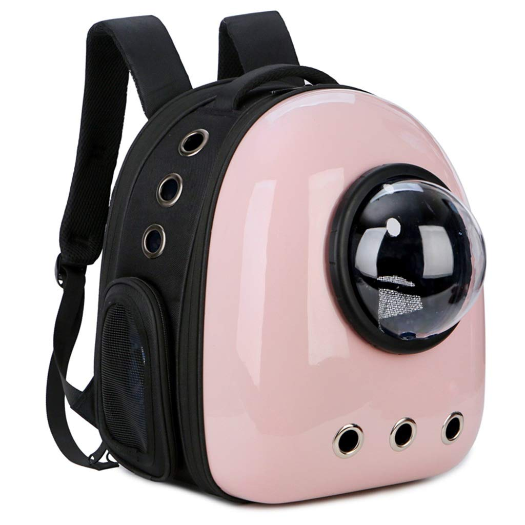 B+ A_Feel pet bag backpack Space pet cabin bag cat backpack out portable backpack cat chest bag slippery cat cage dog space bag (color   A+)