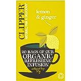 Clipper Lemon & Ginger Tea, 20 Bags
