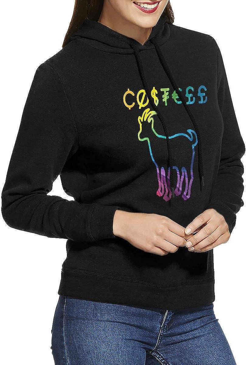 Mens Hooded Sweatshirt Erika Costell European and American Retro Elegant Custom Black