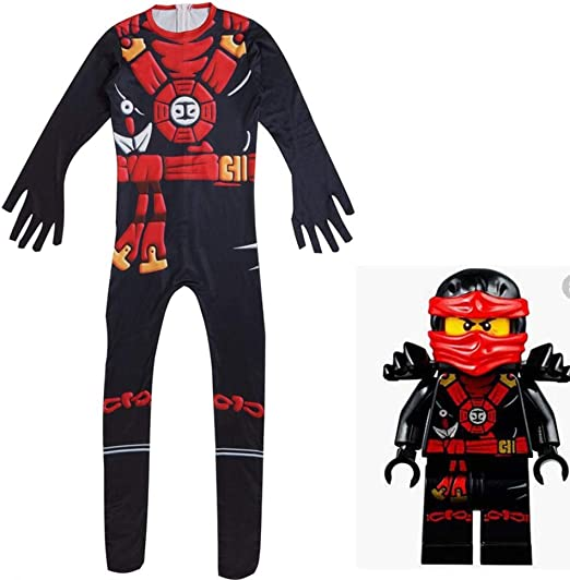 zhaolian888 Disfraces de Halloween Ninja para niños/niñas, Anime ...