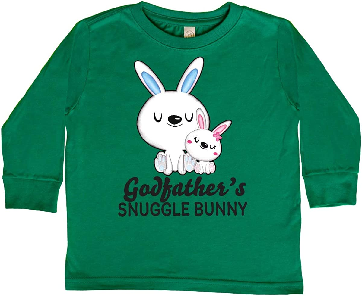 inktastic Godfathers Snuggle Bunny Easter Toddler Long Sleeve T-Shirt