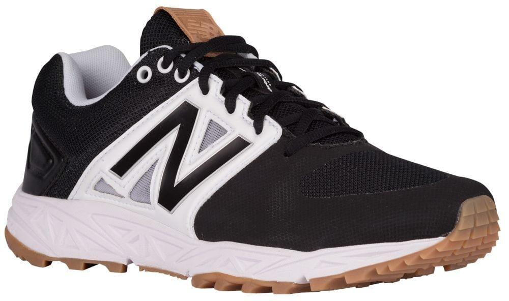[ニューバランス] New Balance 3000V3 Trainer メンズ ベースボール [並行輸入品] B0716ZTVQP US15.0|ブラック/ホワイト ブラック/ホワイト US15.0