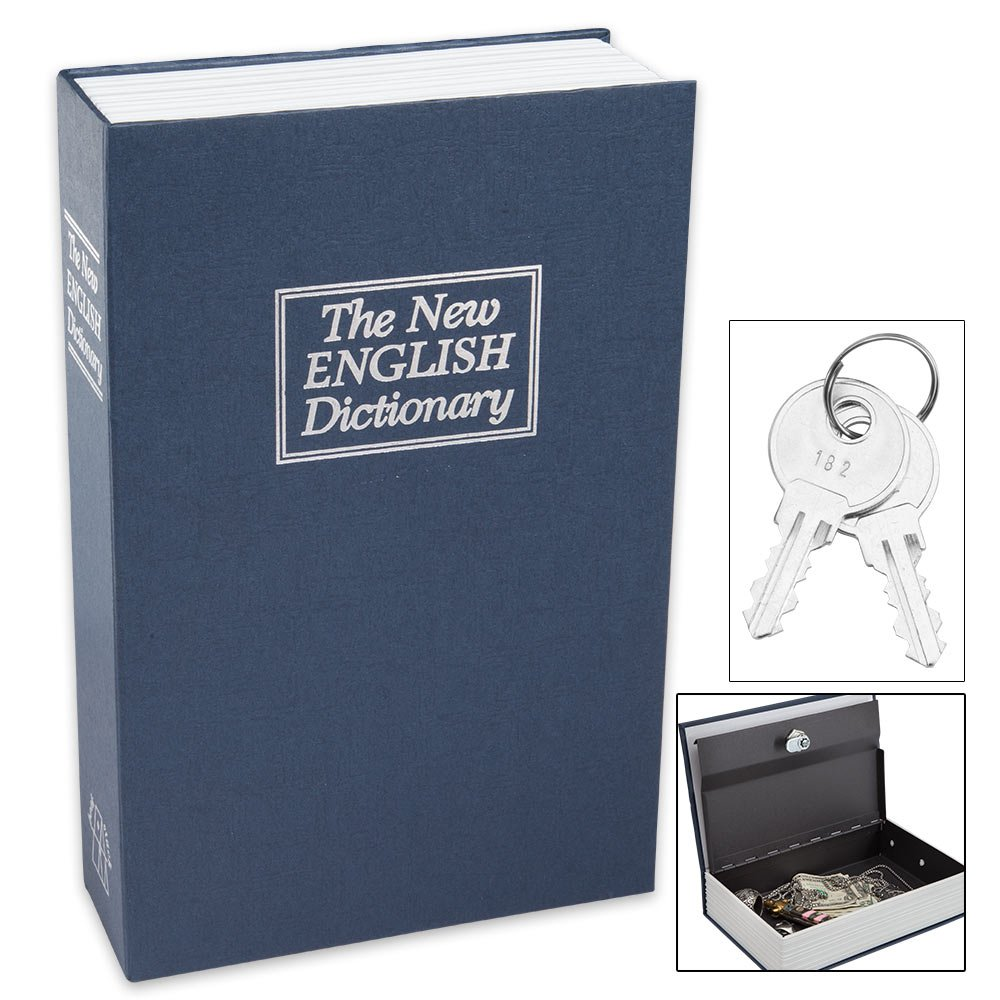 BNF GFSAFED1 Small Faux Dictionary Safe