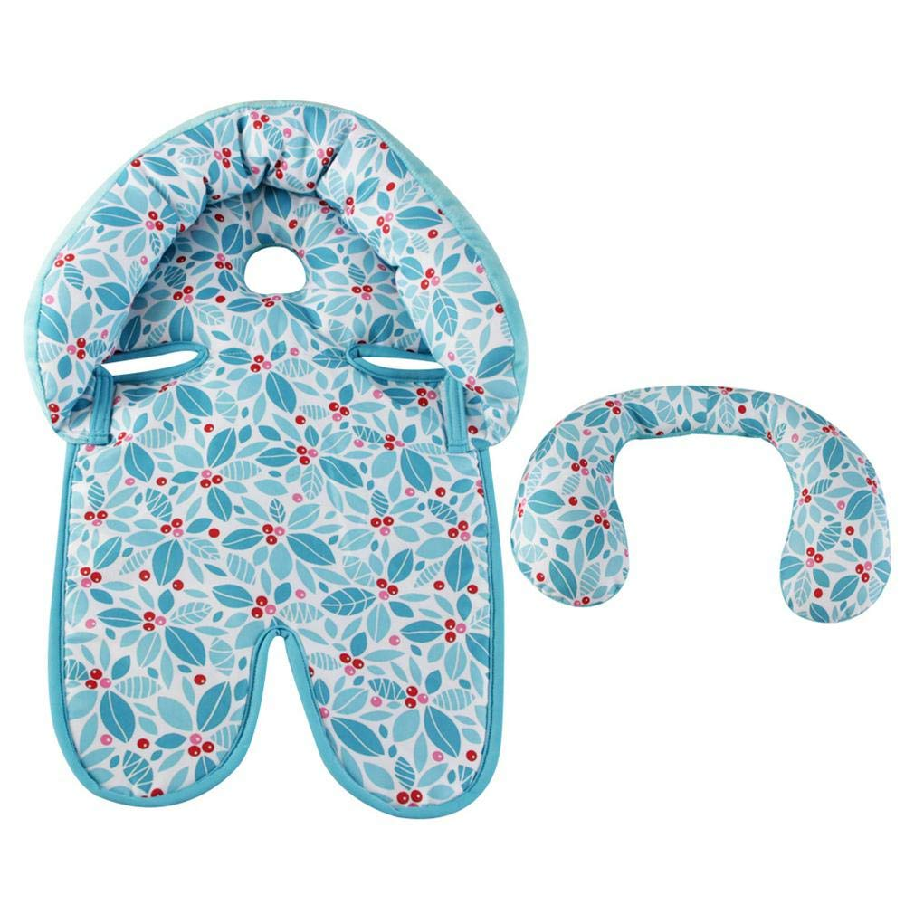 Organic Fabric Nest Head Support Newborn Baby Accessories Head and Neck Baby Stroller Seat Shaping Protective Pillow AOLVO Infant Car Seat Insert