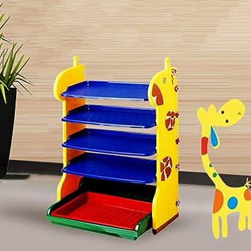 Ljxj Cartoon Kunststoff Schuhregal Kinder Multifunktion Schuhablagen Stapelbare Lagerung Einfache Montage Platz Sparend Regal Eingang Baby Zimmer