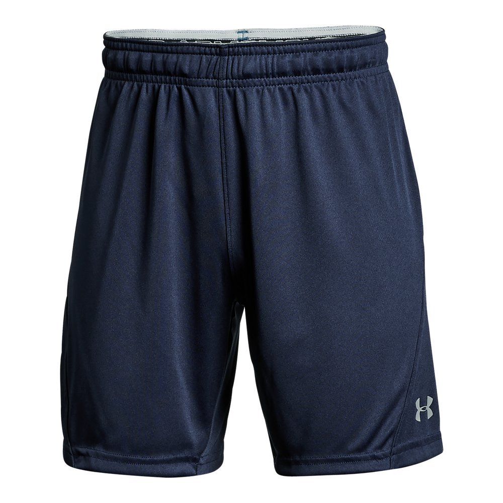 Under Armour Boys Challenger Knit Shorts, Midnight Navy/Graphite, Youth Medium by Under Armour