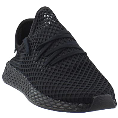 b50697423d0f3 adidas Originals Deerupt Runner Shoe Men s Casual 9 Black-White