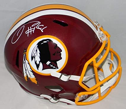 5e4424675e0 Josh Doctson Autographed Signed Washington Redskins Full Size Speed Helmet  JSA