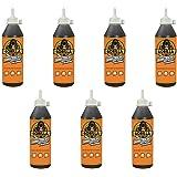 Gorilla Original Waterproof Polyurethane Glue, 18 ounce Bottle, Brown, (Pack of 7)