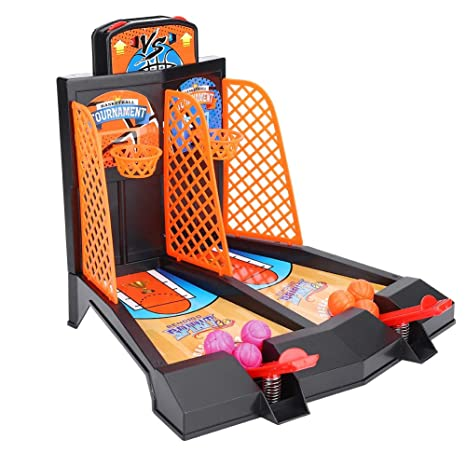 VGEBY Mini Baloncesto de Mesa, Juguete de sobremesa de Baloncesto ...
