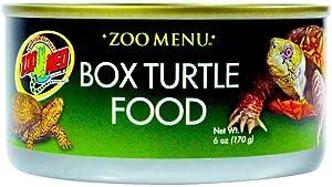 Zoo Med Box Turtle Food (6 Pack of 6 oz)