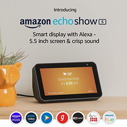 Introducing Echo Show 5 - Smart display with Alexa - 5 5