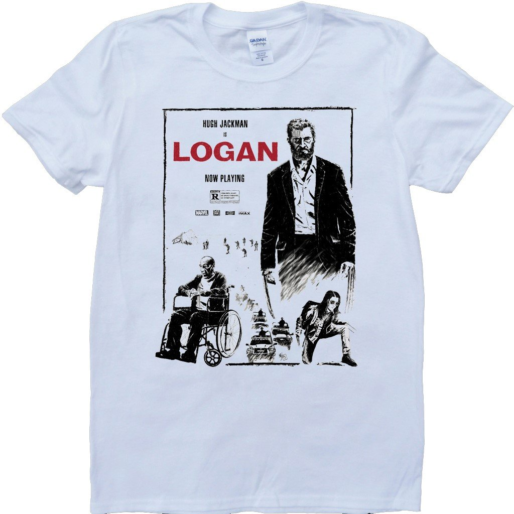 Amazon Brain Dump Tees Logan White Custom Made T Shirt Clothing
