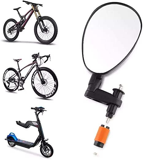 Espejo retrovisor de Bicicleta de Carretera Espejo Convexo Gran ...