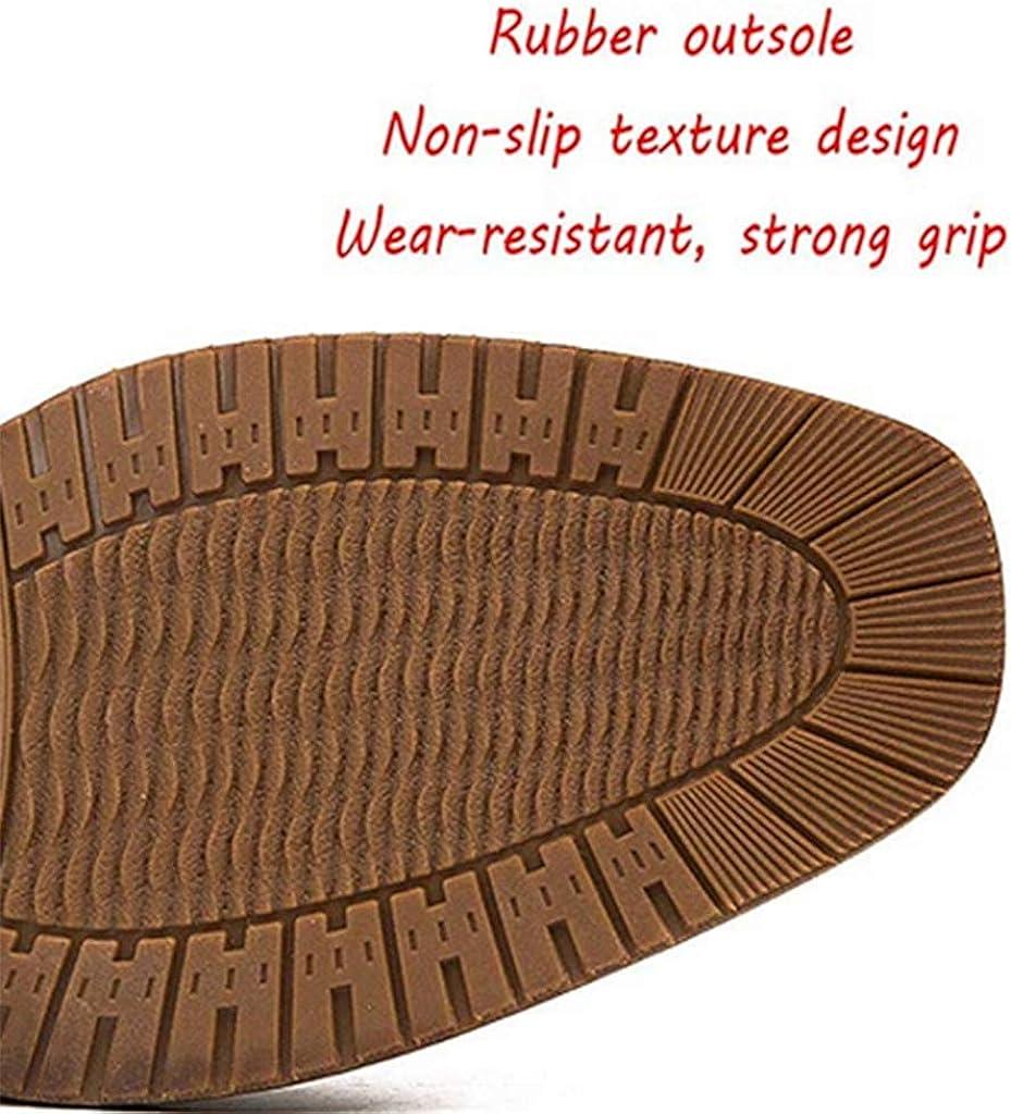 AIFCX Chelsea Herren Stiefeletten England Manmade Leather Dress Shoes Comfort Business Knöchelstiefel Braun rDQ2x