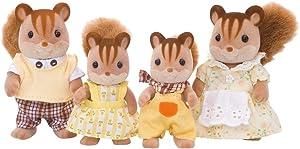 Calico Critters CC1480 Hazelnut Chipmunk Family