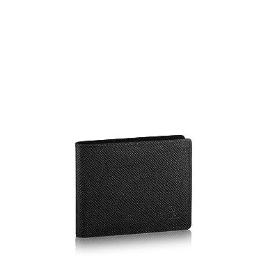 23eaef14966 Louis Vuitton Taiga Leather Noir Slender Wallet M30539 at Amazon ...