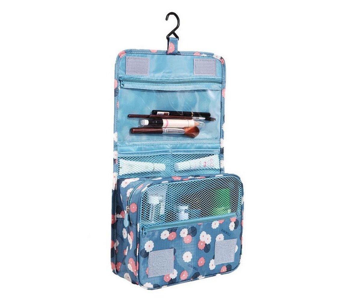 Trousse/Sac de Toilette,Cube avec Crochet Suspendu, Bouteille de Voyage pour Produits Beauté et Douche | Organisateur imperméable pour Les Accessoires de Bain, Compartiments Multiples