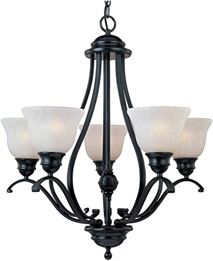 Amazon.com: Chandeliers - Lámpara de techo con 5 focos ...