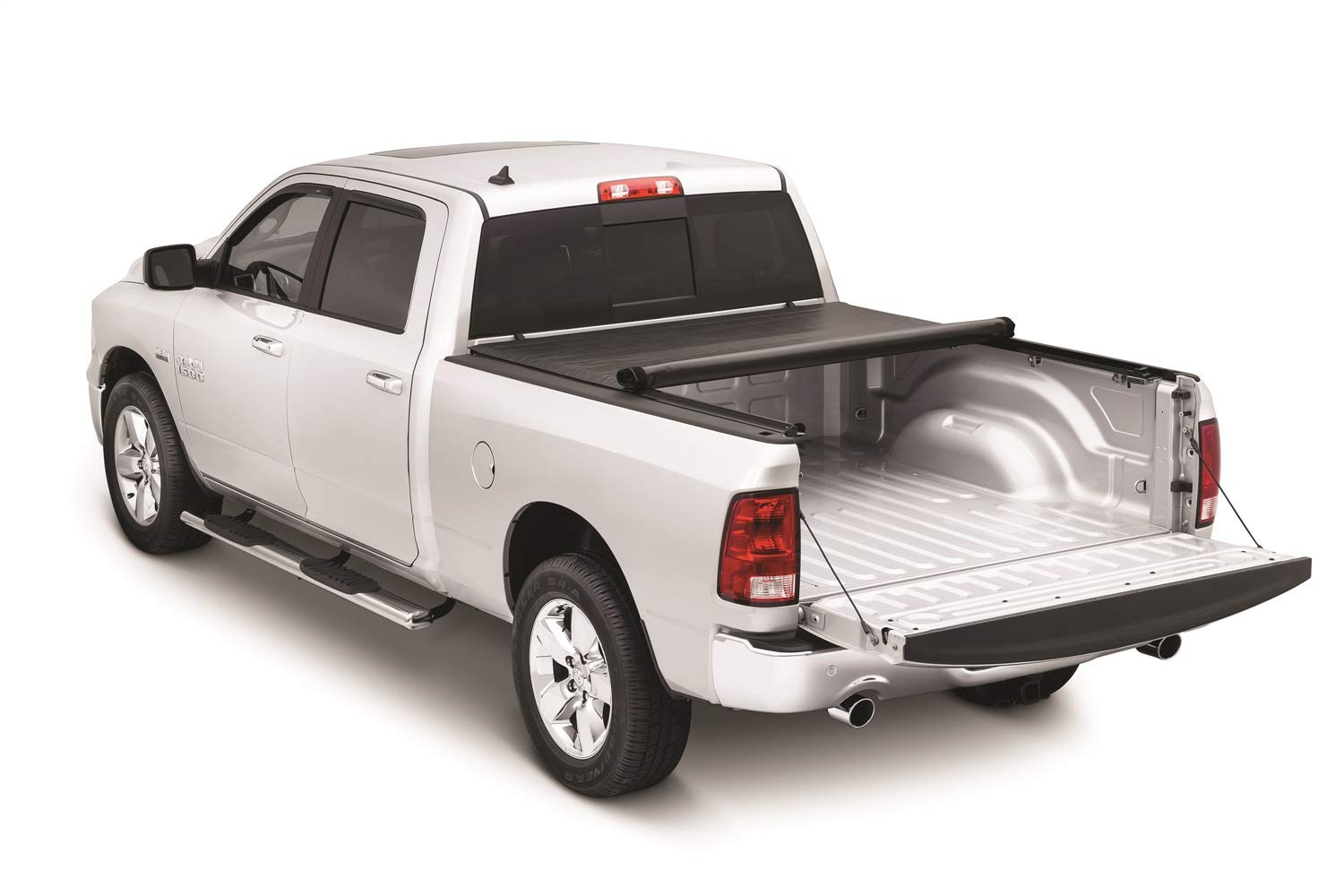 Tonno Pro HF-251 Black Hard Fold Truck Bed Tonneau Cover 2009-2018 Dodge Ram 1500 Fits 5.7 Bed Excludes Beds with RamBox