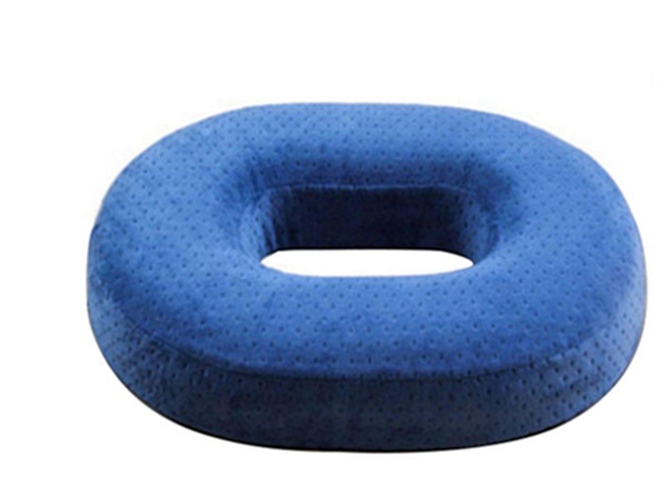 Mousse à mémoire de forme orthopédique Donut Coussin d'assise, réduit la sciatique. Soulagement, coccyx et douleur à la hanche post-natal, chirurgie, escarres DY- textiles