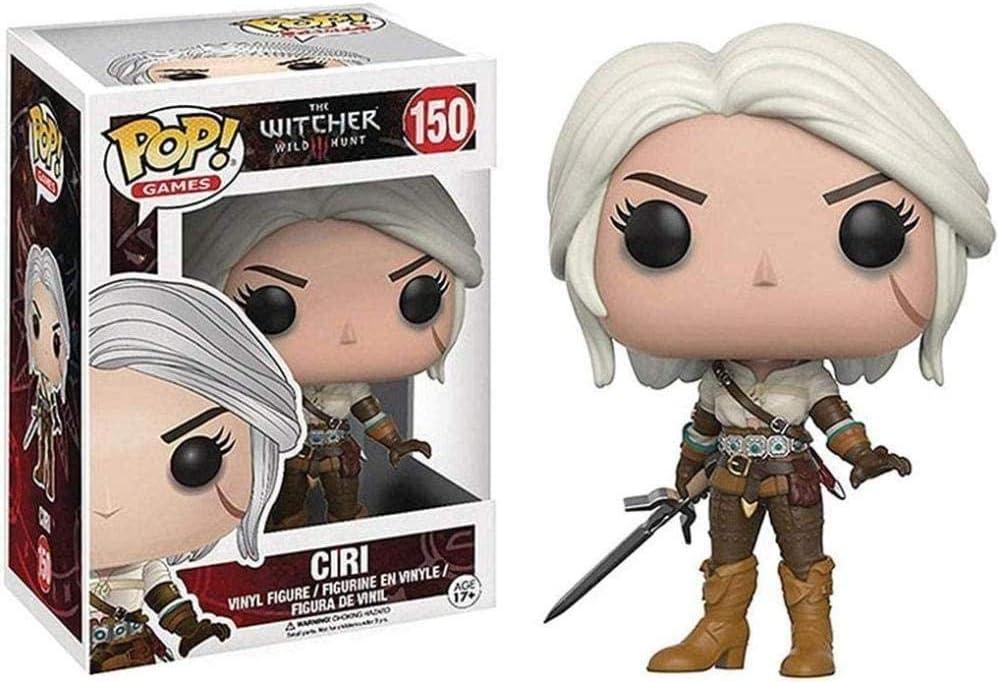 Pop Wild Hunt Toys Vinyle de Collection Ciri de The Witcher 3